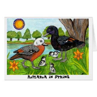Aotearoa in Spring Card