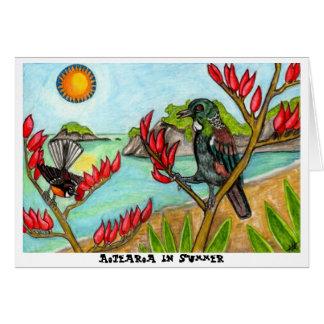 Aotearoa in Summer Card