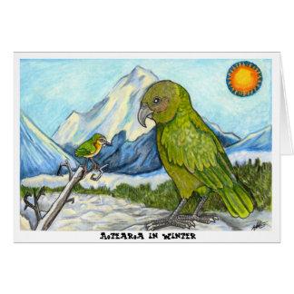 Aotearoa in Winter Card