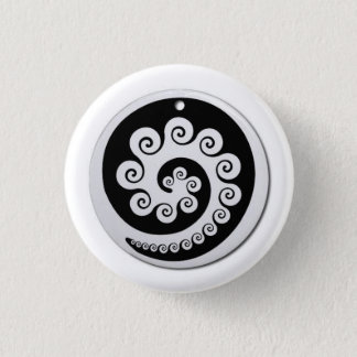 AOTEAROA KORU button of new zealand