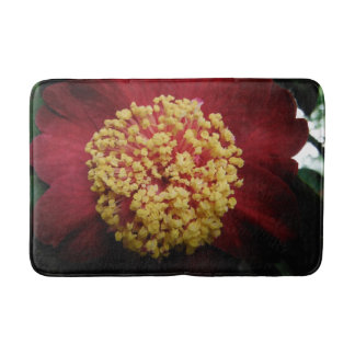 aotearoa new zealand flower bath mat