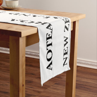 AOTEAROA NEW ZEALAND kiwi table runner throw