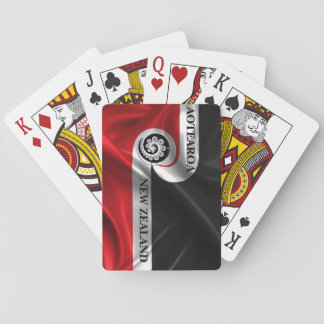 AOTEAROA NEW ZEALAND RANGATIRATANGA FLAG koru Poker Deck