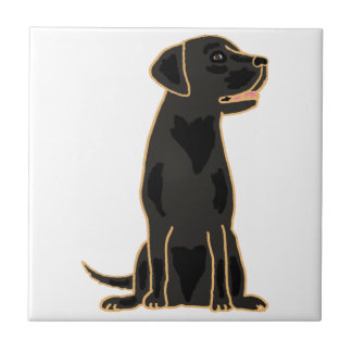 AP- Black Labrador Tile