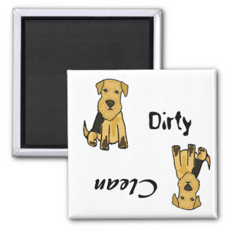 AP- Dirty Paws Dishwasher Magnet