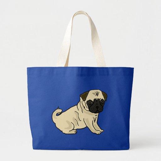 AP- Perky Pug Tote bag