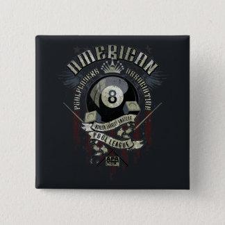 APA 8 Ball 15 Cm Square Badge