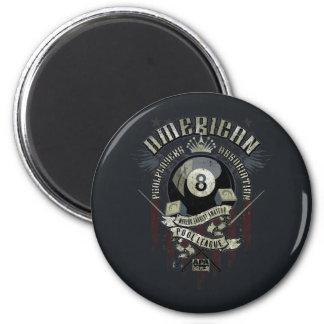 APA 8 Ball 6 Cm Round Magnet