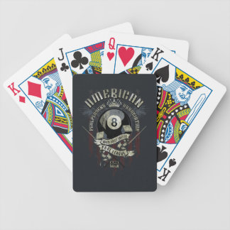 APA 8 Ball Bicycle Playing Cards