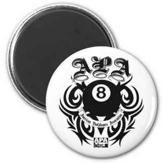 APA 8 Ball Gothic Design Magnet