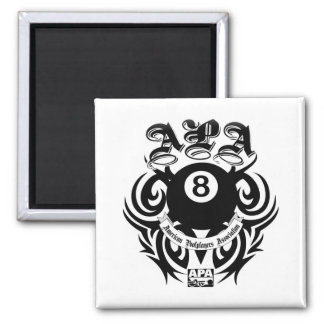 APA 8 Ball Gothic Design Magnet