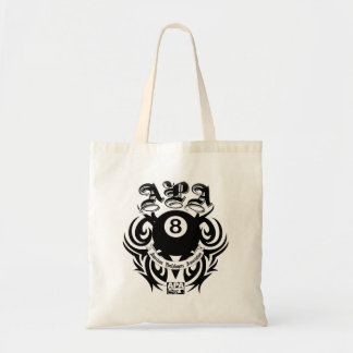 APA 8 Ball Gothic Design Tote Bag