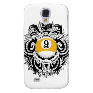 APA 9 Ball Gothic Design Galaxy S4 Case