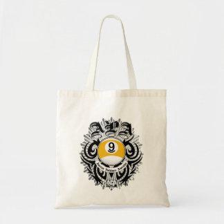 APA 9 Ball Gothic Design Tote Bag