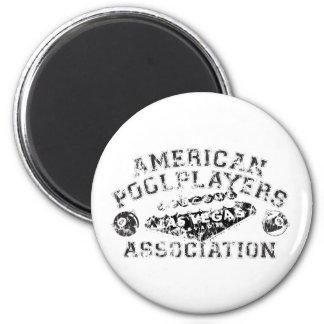APA Distressed Design 6 Cm Round Magnet