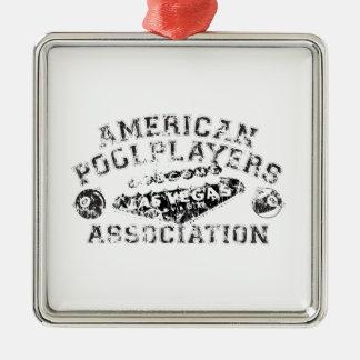 APA Distressed Design Christmas Ornament
