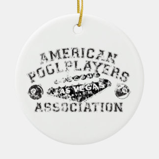 APA Distressed Design Christmas Ornament