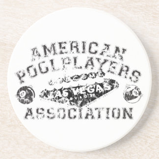 APA Distressed Design Coaster