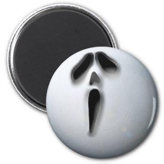 APA Ghost 6 Cm Round Magnet