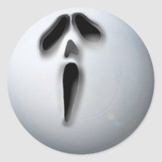 APA Ghost Classic Round Sticker