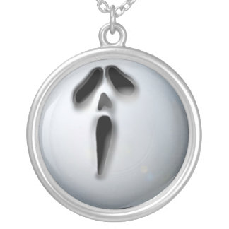 APA Ghost Silver Plated Necklace