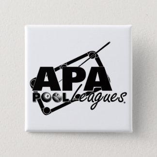 APA Leagues 15 Cm Square Badge