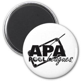 APA Leagues 6 Cm Round Magnet