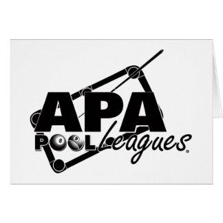 APA Leagues Card