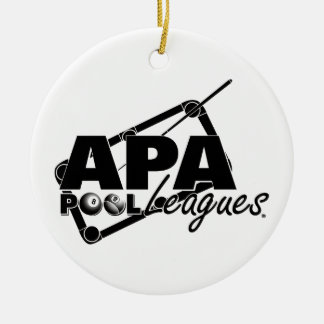 APA Leagues Christmas Ornament