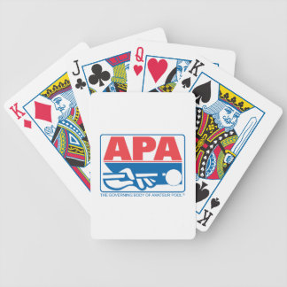 APA Logo Bicycle Playing Cards