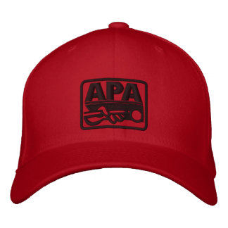 APA Logo - Black Embroidered Hat