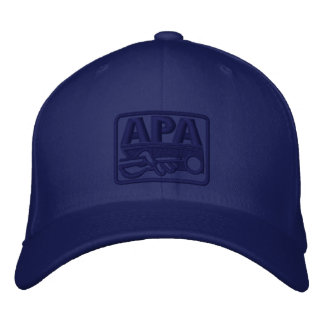 APA Logo - Blue Embroidered Hat