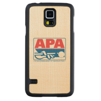 APA Logo Carved Maple Galaxy S5 Case