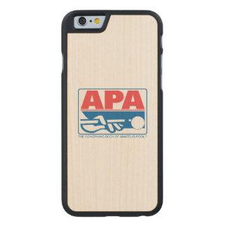 APA Logo Carved Maple iPhone 6 Case