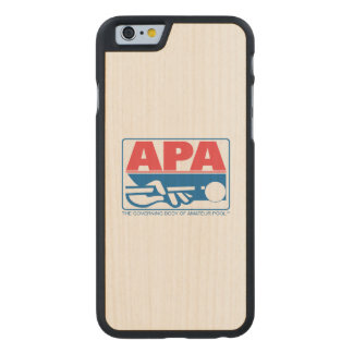 APA Logo Carved® Maple iPhone 6 Slim Case