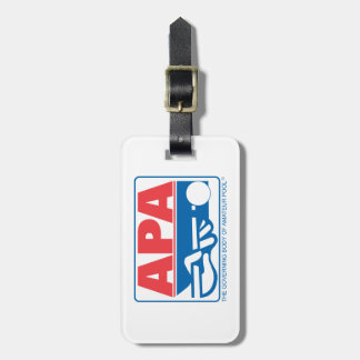 APA Logo Luggage Tag