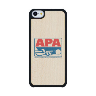 APA Logo Maple iPhone 5C Case