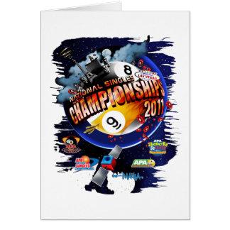 APA National Singles Championships Card