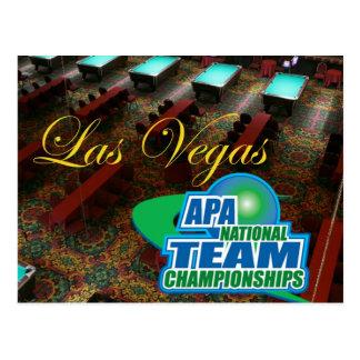 APA National Team Championships Postcard
