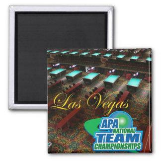 APA National Team Championships Square Magnet