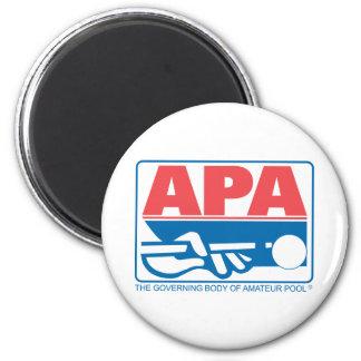 APA Original Logo 6 Cm Round Magnet