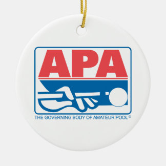 APA Original Logo Christmas Ornament