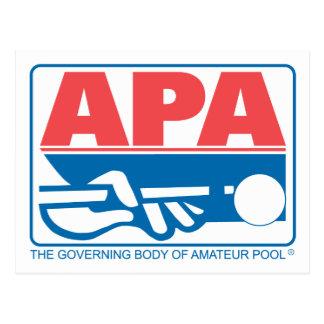 APA Original Logo Postcard