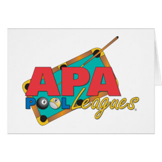 APA Pool Leagues Card