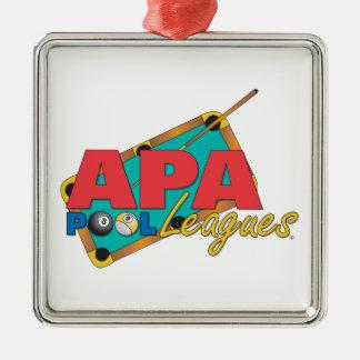 APA Pool Leagues Christmas Ornament