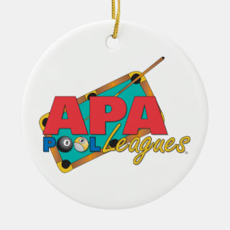 APA Pool Leagues Christmas Ornament