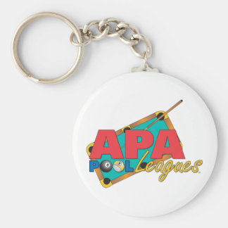 APA Pool Leagues Key Ring
