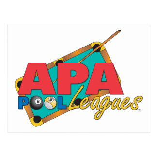 APA Pool Leagues Postcard