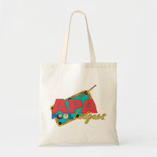 APA Pool Leagues Tote Bag