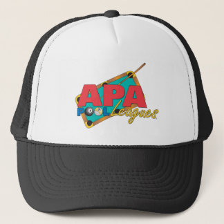 APA Pool Leagues Trucker Hat